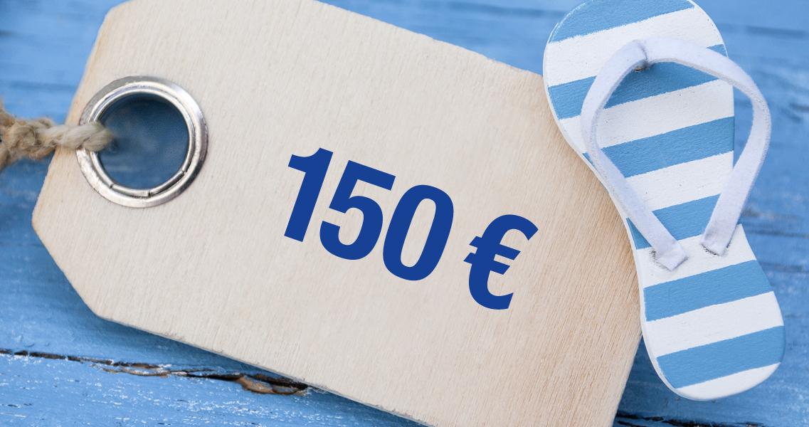 Wertgutschein 150,00 Euro